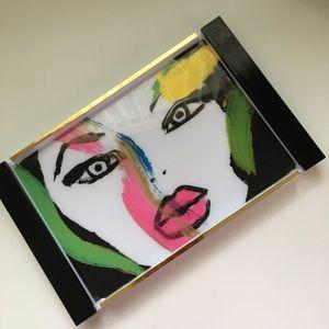 Makeup/vanity tray